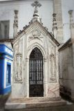 Spooky family crypt in Portugal Royalty Free Stock Images