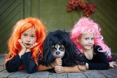Spooky friends Stock Image