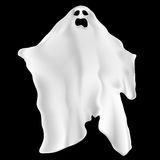 Spooky ghost. Illustration of a spooky ghost vector illustration