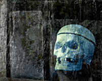 Spooky Ghost Grunge Halloween Textured Background Royalty Free Stock Photography