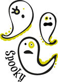 Spooky Ghosts Stock Photo