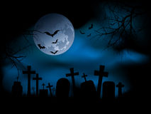 Spooky graveyard Royalty Free Stock Images