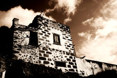 Spooky Hacienda Royalty Free Stock Photography