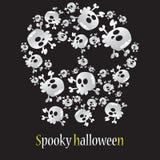 Spooky halloween Stock Image