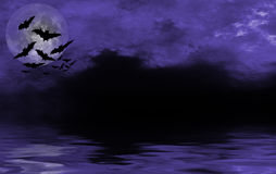 Spooky halloween background for design Royalty Free Stock Photos
