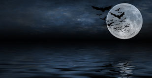 Spooky halloween background for design Royalty Free Stock Photo