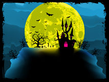 Spooky halloween background. EPS 8 Stock Photography