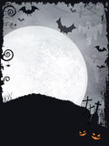 Spooky Halloween background Stock Image