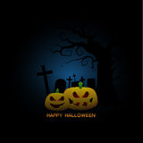 Spooky halloween background Stock Images