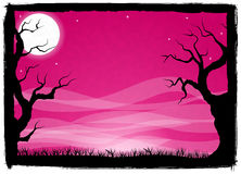 Spooky halloween background Stock Photos