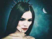 Spooky Halloween backgrounds Stock Image