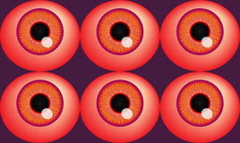 Spooky Halloween Eyeballs Royalty Free Stock Image