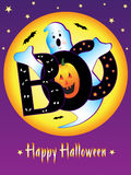 Spooky Halloween Ghost Royalty Free Stock Photography