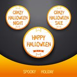 Spooky Halloween holiday Royalty Free Stock Photos