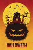 Spooky Halloween illustration Royalty Free Stock Photography