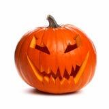 Halloween Jack o Lantern isolated on white Stock Photos