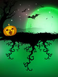 Spooky Halloween night. Royalty Free Stock Image