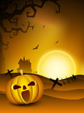 Spooky Halloween night. Stock Images