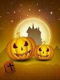 Spooky Halloween night. Royalty Free Stock Photos