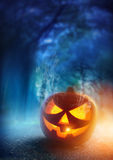 Spooky Halloween Night Stock Images