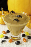 Spooky Halloween Pudding stock images