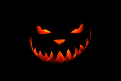 Spooky Halloween pumpkin Royalty Free Stock Images