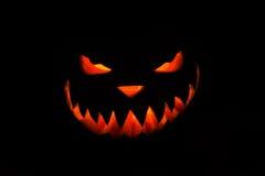 Spooky Halloween pumpkin Royalty Free Stock Images