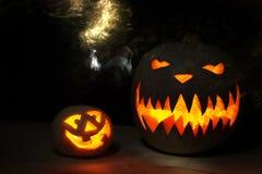 Spooky Halloween pumpkin Royalty Free Stock Photography