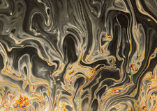 Spooky halloween soap bubble abstract background Stock Image