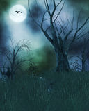 Spooky Haunted Background Royalty Free Stock Photos