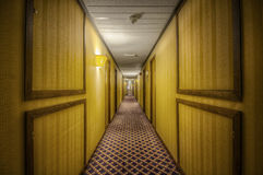 Spooky Hotel Passage Stock Images