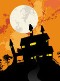 Spooky house Royalty Free Stock Images