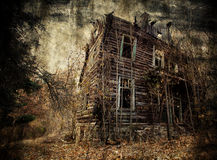 Spooky house royalty free stock photography