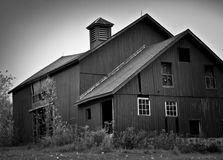 Spooky house. Spooky old house in black and white Royalty Free Stock Photography