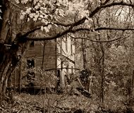 Spooky House Royalty Free Stock Photos