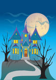 Spooky house Stock Photography