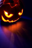 Spooky Jack-o-lantern stock photography