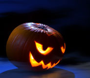 Spooky Jack O' Lantern Royalty Free Stock Photography