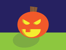 Spooky Jack O Lantern Royalty Free Stock Photography