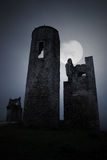 Spooky military ruins Royalty Free Stock Photography
