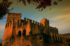 Spooky old castle Stock Image