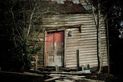 Spooky old farm house Royalty Free Stock Photo
