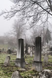 Spooky old graveyard detail Royalty Free Stock Photography