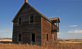 Spooky Old House Stock Photo