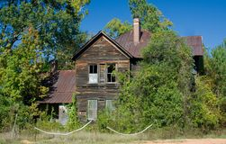 Spooky old house Royalty Free Stock Photos