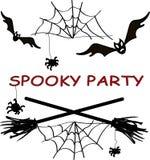 Spooky party. Illustration, element illustration Stock Photo