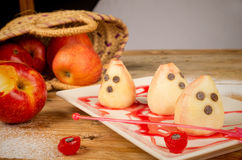 Spooky pears Royalty Free Stock Images