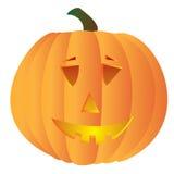 Spooky pumpkin Stock Image