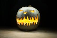 Spooky pumpkin on halloween Royalty Free Stock Photos