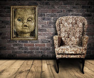 Spooky room. Royalty Free Stock Photography